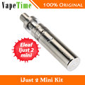 VENDA! eleaf ijust 2 mini vaping kit com 2 ml eu just2 just2 tanque atomizador e 1100 mah bateria cigarro eletrônico starter kit