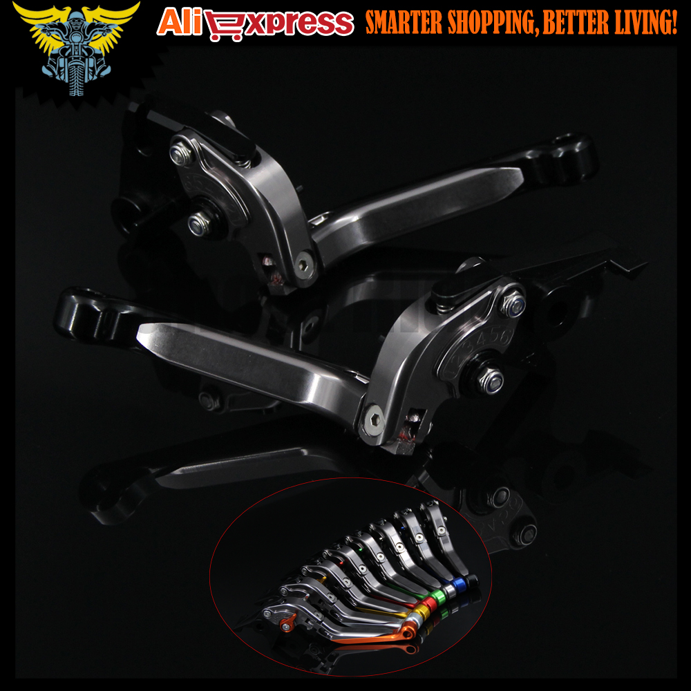 CNC Adjustable Folding Motorcycle Brake Clutch Levers For Kawasaki ZRX1100 / 1200 1999 2000 2001 2002 2003 2004 2005 2006 2007 new style motorcycle cnc brake clutch levers for bmw f650gs 2000 2007 2001 2002 2003 2004 2005 2006 f800gs adventure 2008 2016
