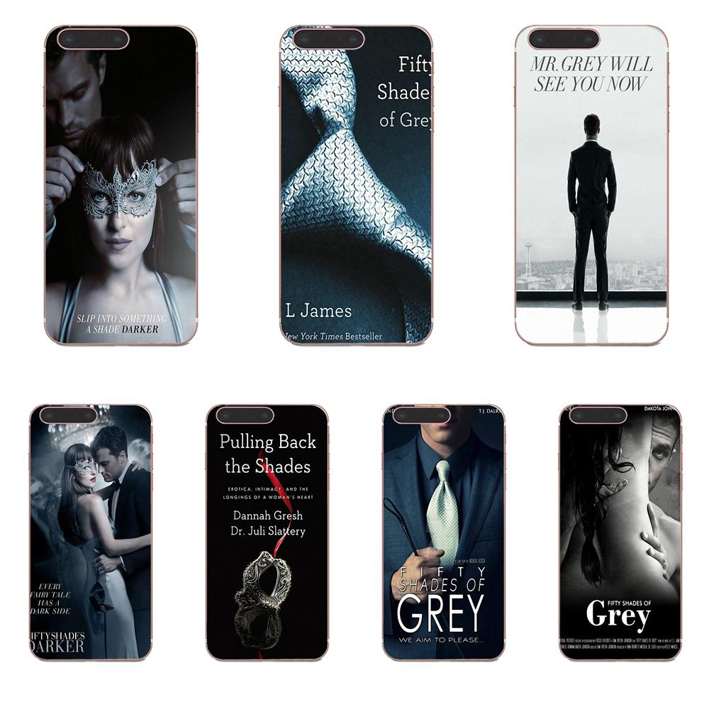 <font><b>50</b></font> Fifty <font><b>Shades</b></font> <font><b>Of</b></font> <font><b>Grey</b></font> <font><b>Sex</b></font> Soft TPU Case Cover For Huawei Honor Mate Nova 2 6A 7A 7C 8C 8S 10 10i Y5 Y9 Lite P Smart GR5 2019 image