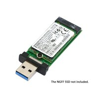 USB 3 0 To 2242 M 2 NGFF SSD Enclosure Pen Drive Converter Adapter