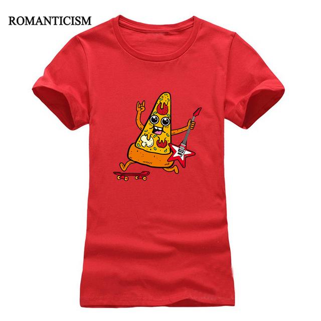 Romanticism 2017 summer Music slim girl t-shirts casual cartoon o neck t shirt women fashion tees tops