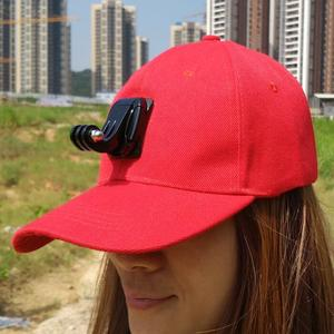 Image 4 - Accessories Sun Hat Headband Strp Cap and Base for Gopro Hero7 6 5 4 3 Xiaomi yi 4K Mijia SJCAM SJ4000 Sj5000 SJ6 EKEN H9 Camera
