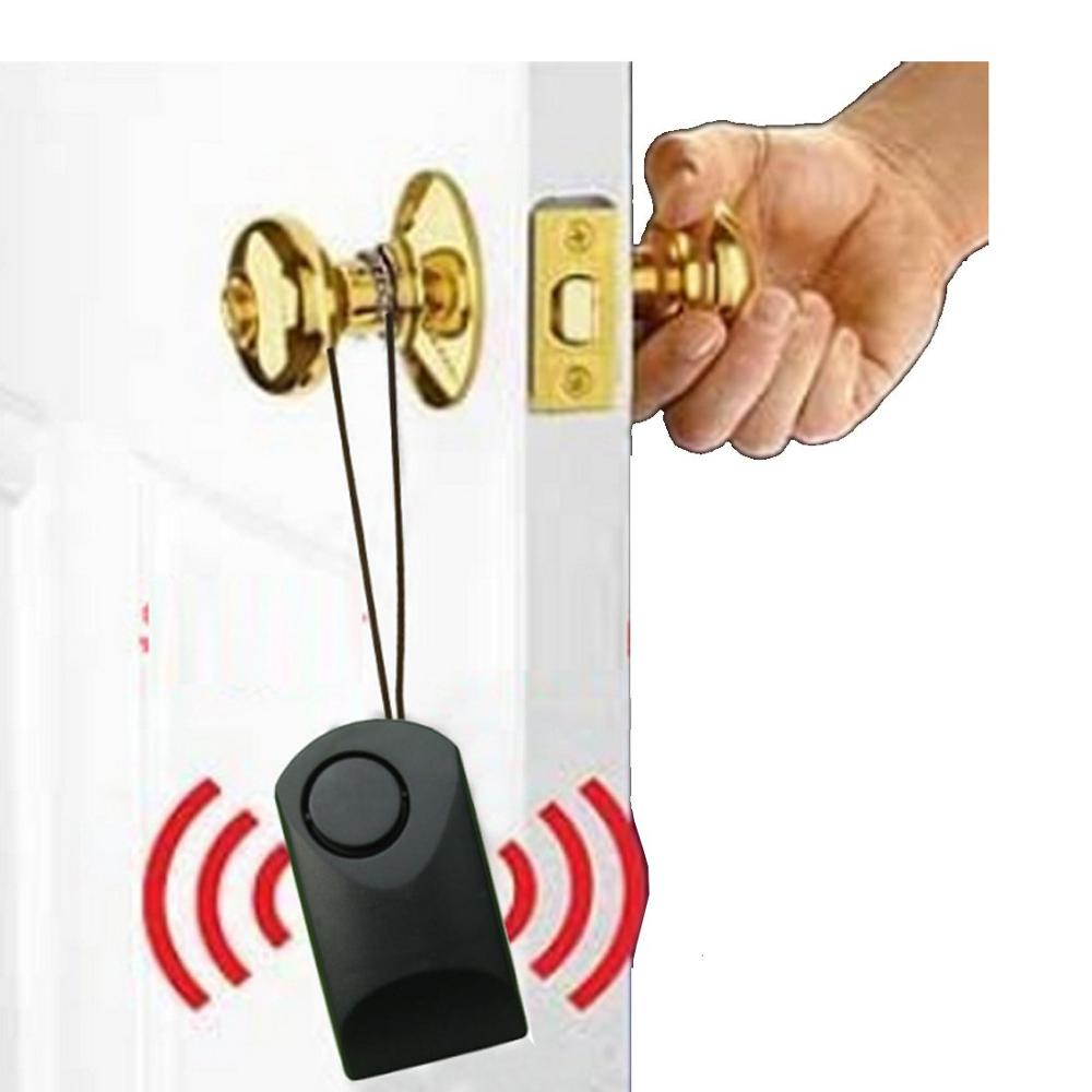 Portable 120db Door Sensor Alarm Door Handle Touch Alarm Anti-theft Scaring Thefting Alarm For Home Hotel Travel