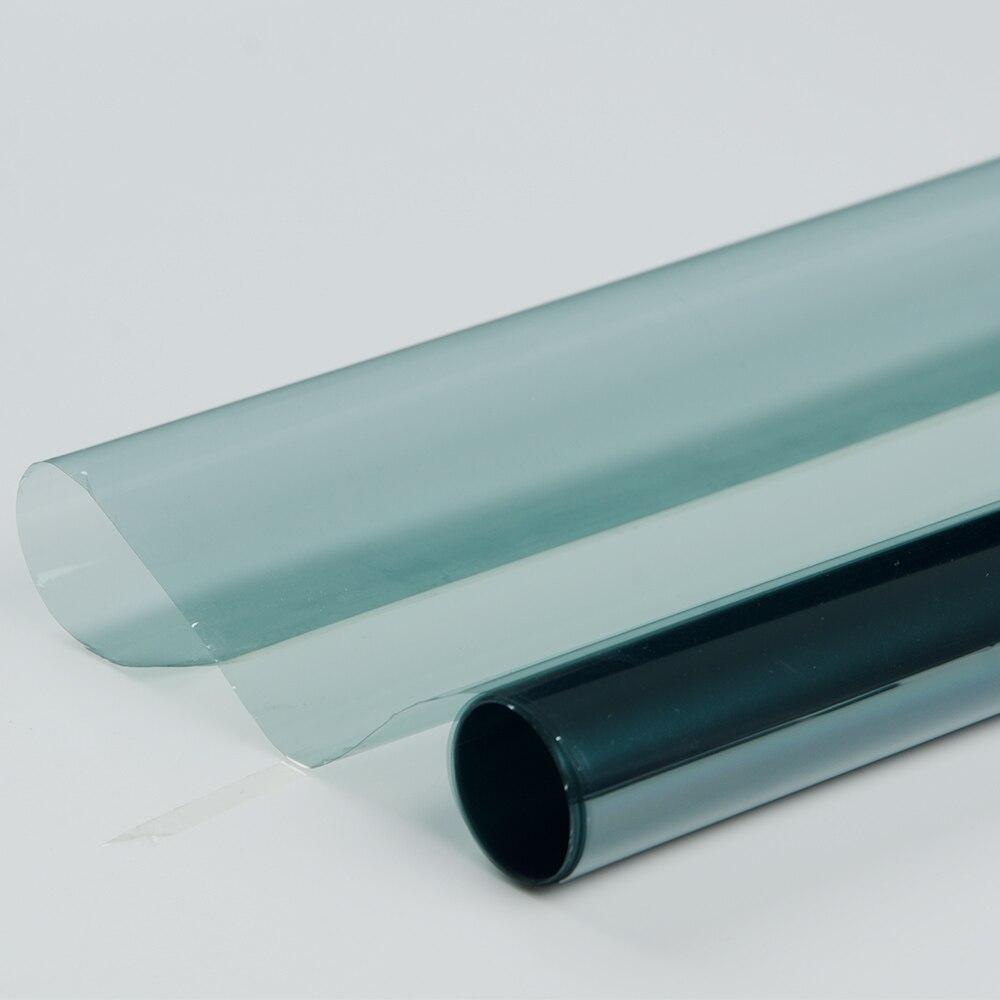 76 cm x 5 m Fenêtre Teinte Film VLT 75% Fenêtre Feuille Protection Solaire Maison De Voiture En Verre Anti-Déflagrant vitres TEINTÉES Rouleau De Vinyle