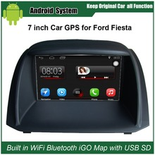 Upgraded Original Car Radio Player Suit to Ford Fiesta Car Video Player Built in WiFi GPS Navigation Bluetooth