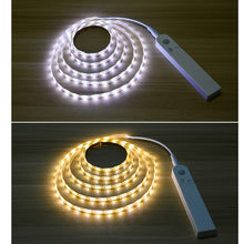 2019 improvement supplies convenient and practical LED Lamp Light Strip Sticker Cabinet DC Waterproof Human Body Induction(China)