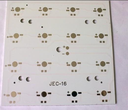 16w aluminum plate 125x125mm  Aluminum PCB, LED DIY Printed Circuit Boards LED heat sink aluminum base plate