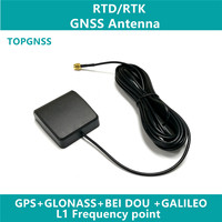 2pcs GNSS RTK antenna high quality GPS GLONASS three system GPS antenna 38DB high gain, high precision positioning