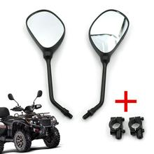"M10 мотоциклетные зеркала заднего вида 7/8 ""крепления руля для Honda Kawasaki Yamaha Suzuki KTM Arctic Cat квадроциклы Polaris Sportsman"