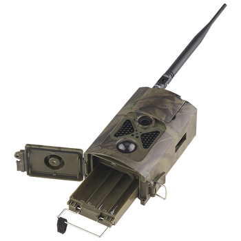 Wild Hunting Camera Cellular Mobile Trail Wildlife Cameras 2G MMS SMTP SMS 16MP 1080P Wireless  PhotoTrap HC550M 3