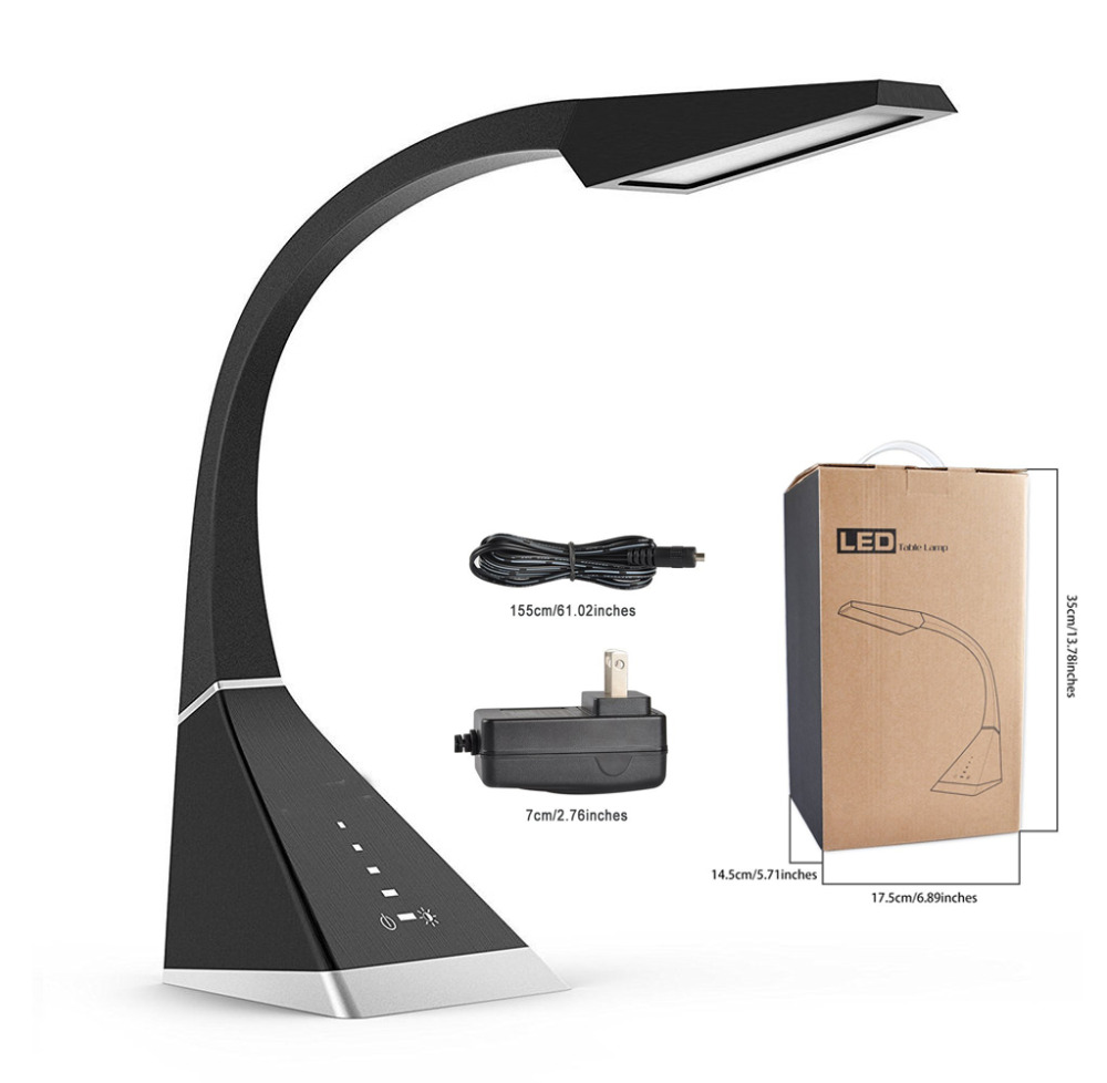 Best Desk Lamp Eye caring Touch Control LED Study Lamps ...