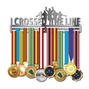 Image 5 - Inspirational medal hanger Metal medal holder Sport medal display rack hold 36 + medals