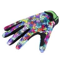 Qepae регулируемые велосипедные перчатки скольжение полный палец перчатки ящерица мужчины женщины велосипед ударопрочный экран теплые перч