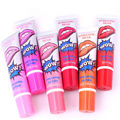 6pcs/lot Long Lasting Lip Gloss Makeup Brand Tint Tattoo Mask Waterproof  Sticker Matte Lipstick Oil Gel Women Balm Cosmetic Kit