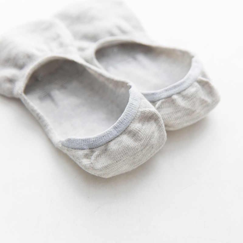 10 adet = 5 pairs ilkbahar yaz kadın çorap düz renk moda vahşi sığ ağız görünmez çorap felmen terlik çorap