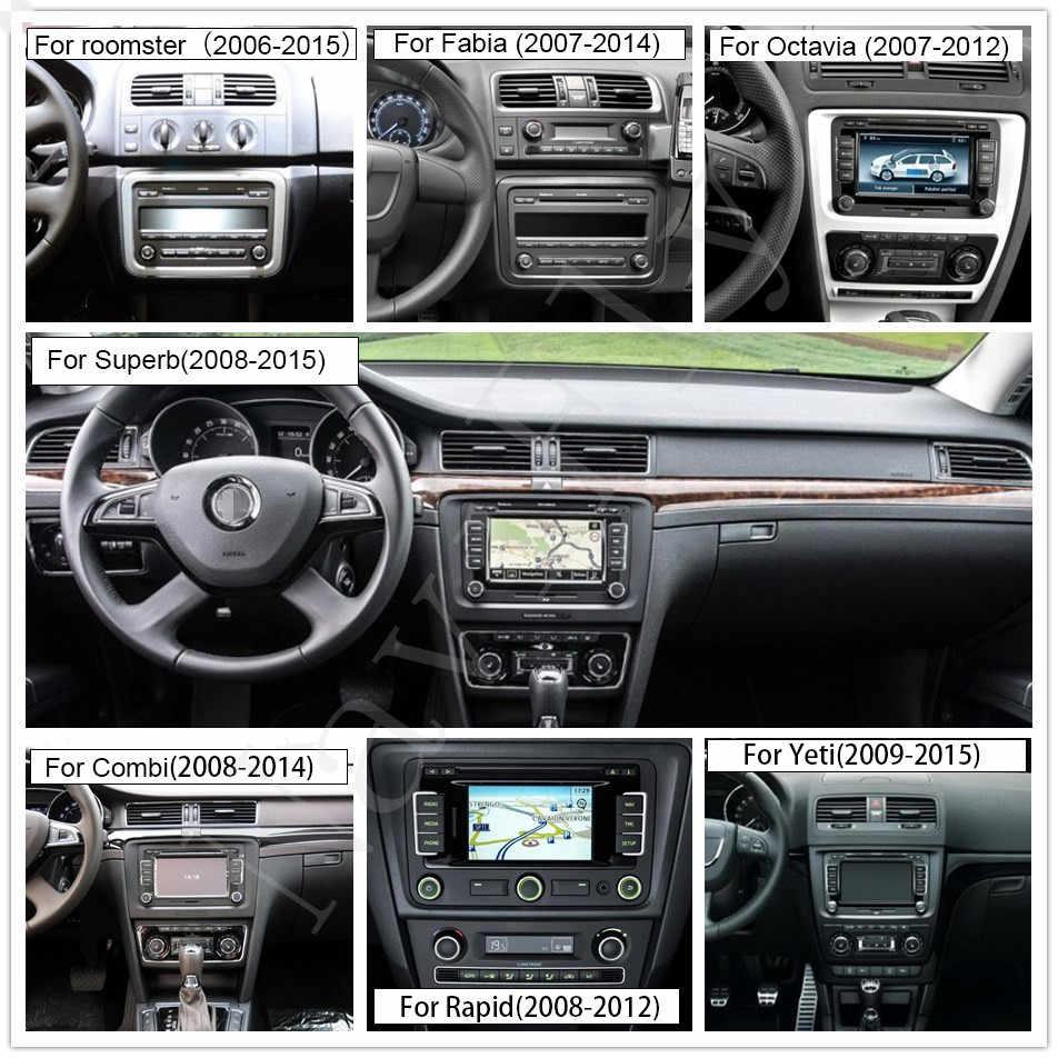 Android HD1024 * 600 Автомобильный gps навигация для Volkswagen Skoda Octavia Golf 5 6 touran passat B6 Polo Tiguan мультимедийный плеер радио