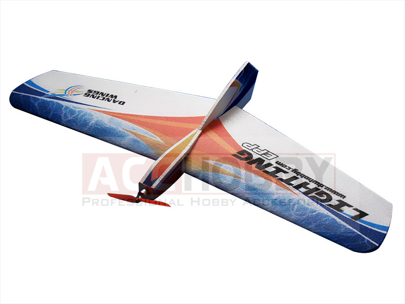 Free Shipping EPP Airplane Model RC Airplane Foam Airplane Plane Lighting 1060mm Wingspan cartoon airplane style red