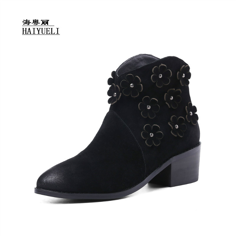 Top Product Women Shoes Genuine Leather Pure Handmade Ankle Boots Snow Boots Autumn Winter BootsTop Product Women Shoes Genuine Leather Pure Handmade Ankle Boots Snow Boots Autumn Winter Boots