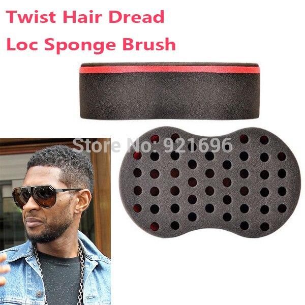 2pcs/Lot Magic Hair Twist Sponge Dreads Twisting Locks Dreadlocks Curl Brush Sponge  цены