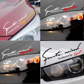 Dewtreetali Car Stickers Reflective Lamp Eyebrow Sports Styling Decor for Forester Legacy XV impreza sti legacy