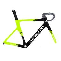 Best seller of carbon fiber bike frame Aero road bicycle frame fork seatpost UD weave 50 52 54 56 58CM 2 years warranty