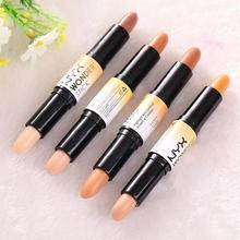 Makeup Tool Supply Cream Face Eye Double End Concealer Highlight Contour Pen Stick Beauty High Quality
