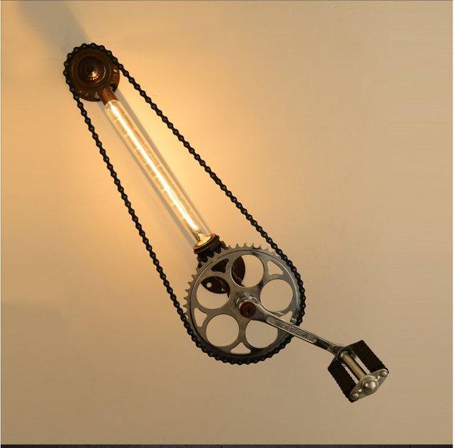 aliexpresscom buy vintage industrial lighting modern. vintage industrial lighting loft style metal water pipe lamp edison wall retro axle gear light aliexpresscom buy modern u