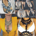 Dvacaman Spring Summer Long Handmade Personality Body Fashion Necklace & Pendant Statement Summer Vacation Vintage Necklace 98