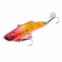 1pcs VIB Fishing Lure Onerous Bait Isca Synthetic Pesca 7cm 18g Lead Inside Diving Swivel Jig Wing Wobbler Crank Bait