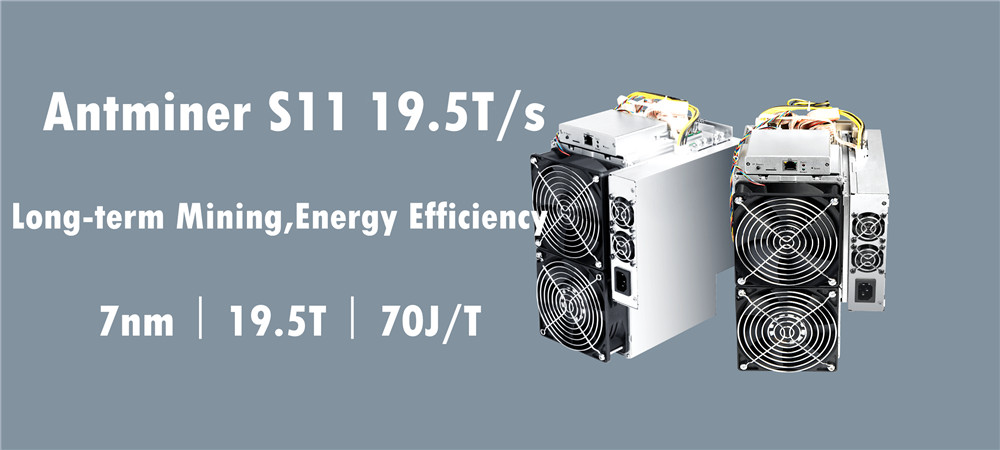 BITMAIN AntMiner S11 19,5 T BCH BTC Miner лучше, чем S9 S9j S15 T9 + S17 T17 S17e S17 + WhatsMiner M3X M20S Innosilicon T2T Ebit