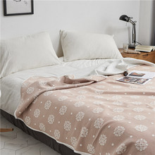 Summer Patchwork Quilts Duvet Bed Cover linens Washed Cotton Throw Blankets Solid Bedding Suitable for Children Adult
