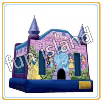 Princess bouncy castle,bounce castle princess,china factory ,bouncy castle guangzhou funny princess castle jumper inflatable princess bouncy castle princess style bed