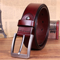 2016 Fashion Designer Belts Men High Quality Man Belt Brand Leather Square Big buckle trending style ceinture homme