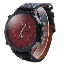 Shiweibao DFashion & Casual para hombre hebilla de la correa reloj con una caja de regalo