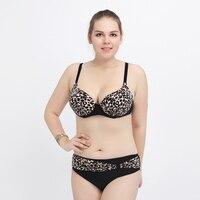 2017 New Plus Size Swimsuit Women 2017 New Leopard Bikini Bottom Sexy Tankini Set Bikini Set
