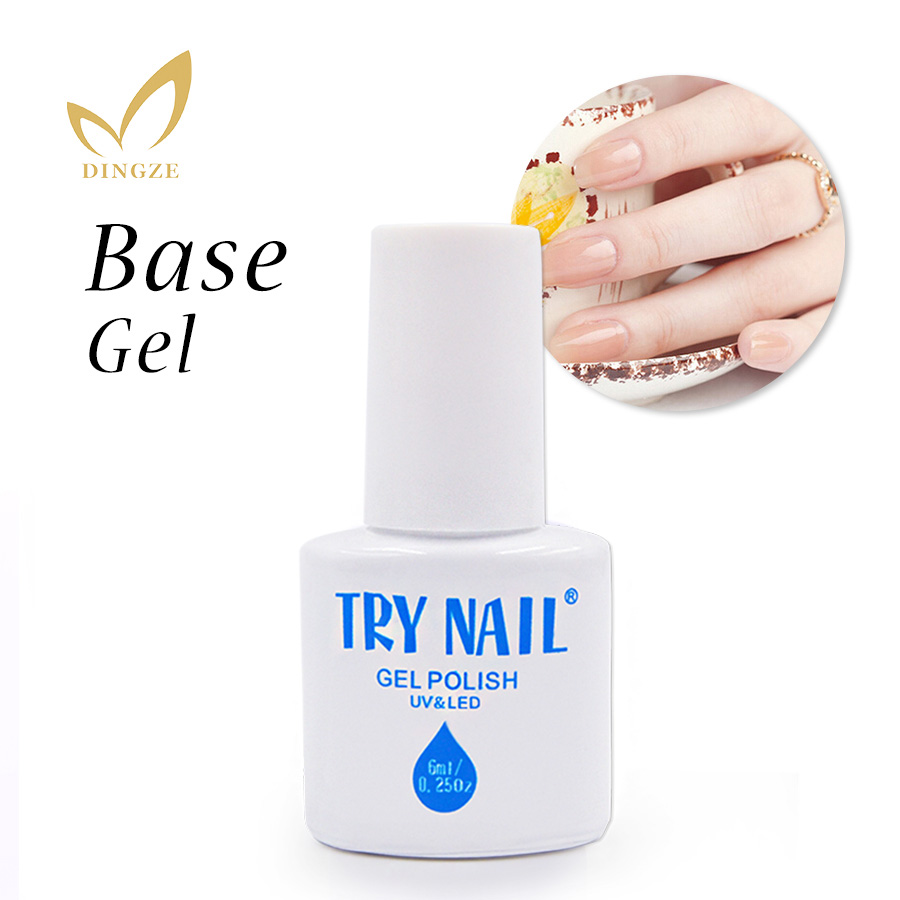 TRY NAIL Top Quality Health Transparent Clear Top Coat ...