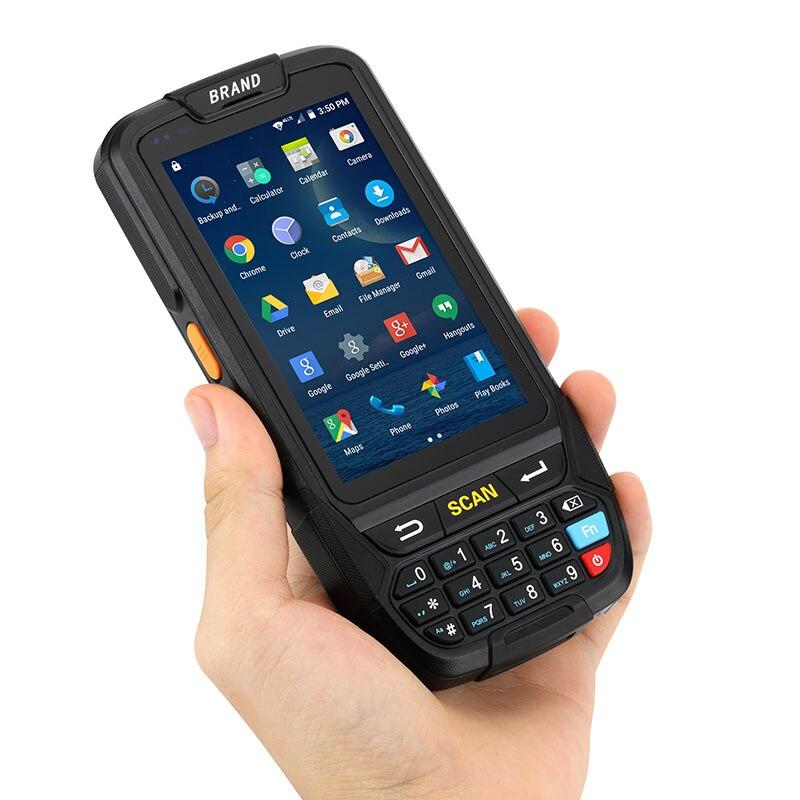 ISSYZONEPOS 1D 2D 4G Android 7.0 PDA Handheld Terminal POS Barcode Scanner Leitor de código de Barras Sem Fio Bluetooth Wi-fi GPS Waarehouse