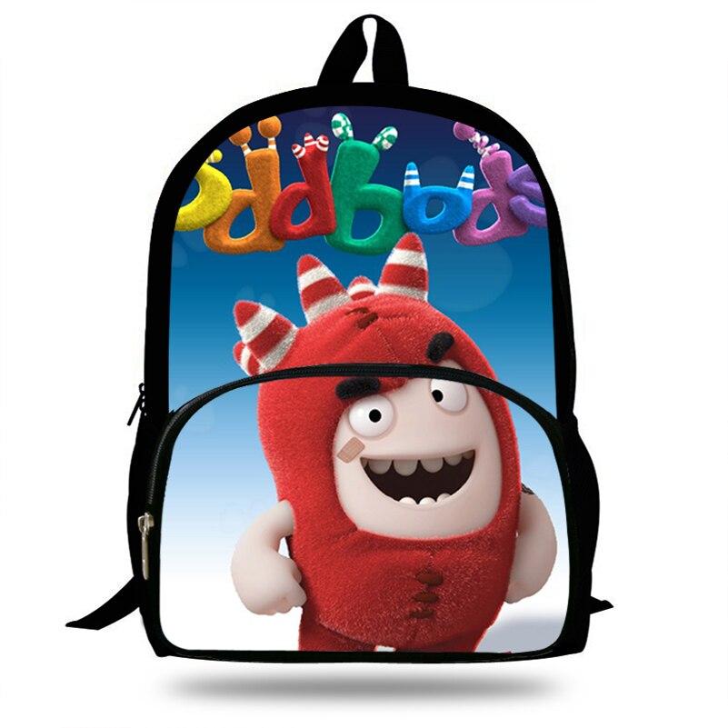 16-inch Cute Cartoon Oddbods Backpack For Teenager Boys Girls Bag Women Men Casual Backpack Kids Children School Bags16-inch Cute Cartoon Oddbods Backpack For Teenager Boys Girls Bag Women Men Casual Backpack Kids Children School Bags