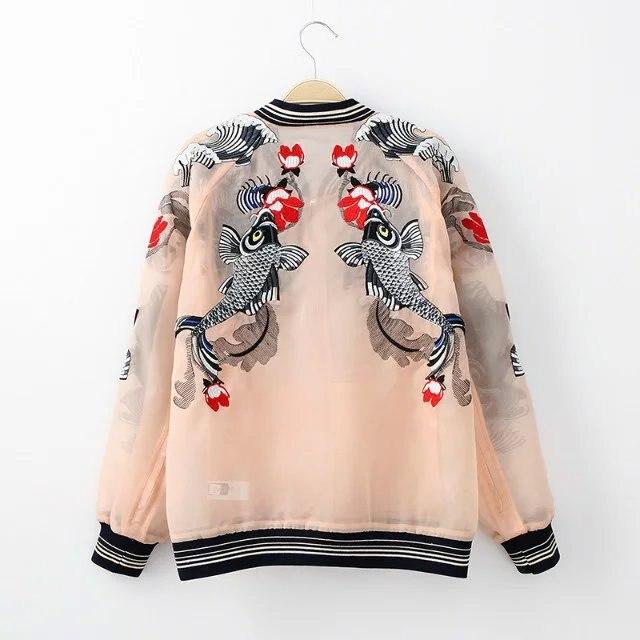 HTB1HsCZQpXXXXbSapXXq6xXFXXXe - Bomber Fish koi Embroidery Jacket