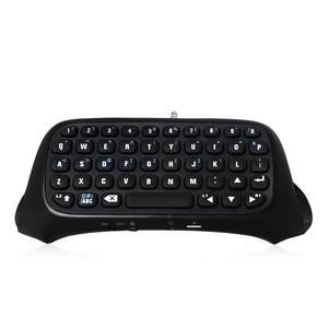 Image 5 - Mini Tastiera Senza Fili di Bluetooth Per Sony PS4 PlayStation 4 Accessori Gamepad Tastiera Per Il Gioco 4 P4 Parti del Controller Tastiera