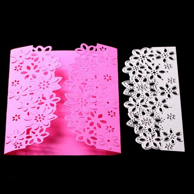 Envelope Lace Metal Cutting Dies Stencils for DIY Scrapbooking/photo album Decorative Embossing DIY Paper Cards Freeshipping