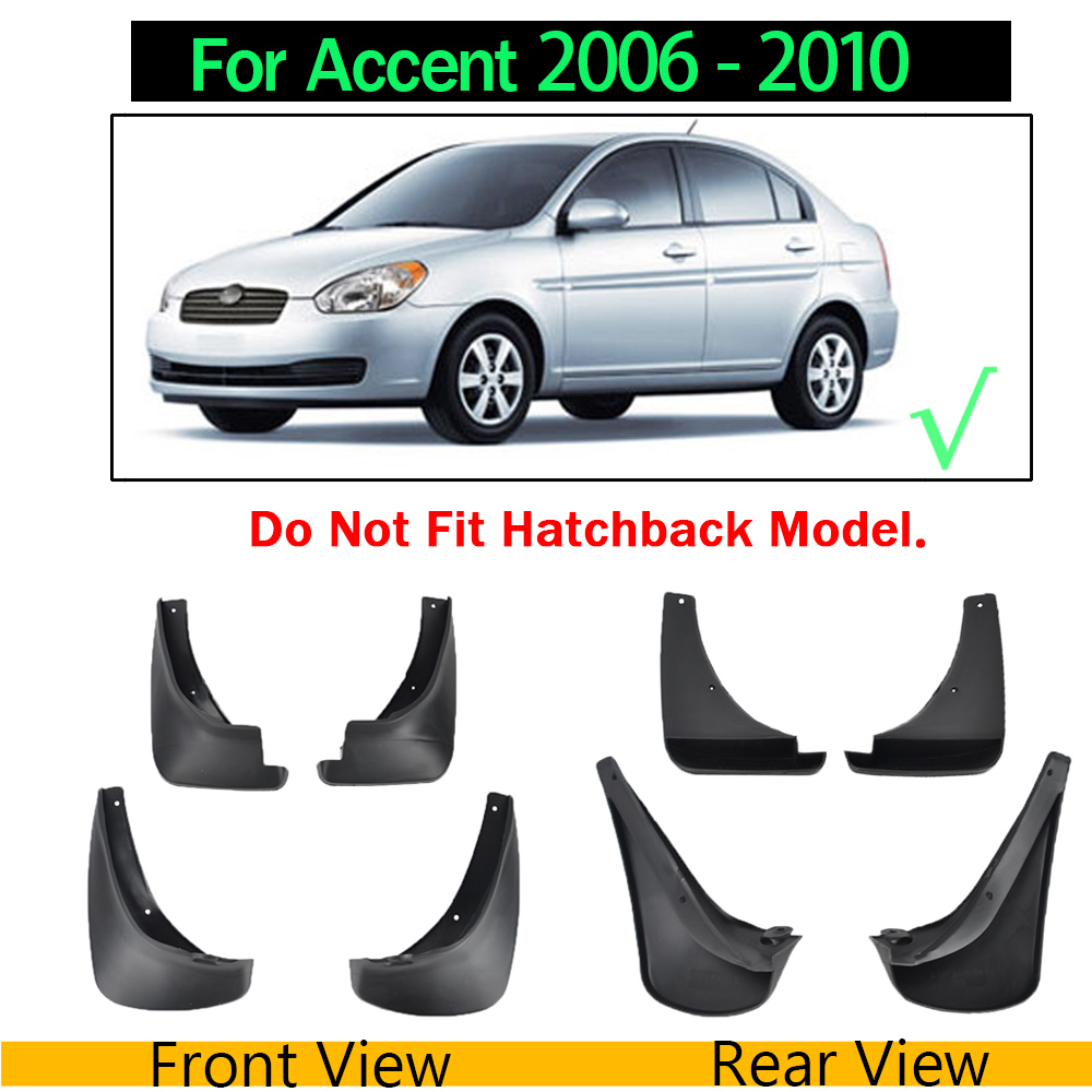 Genuine Xukey Splash Guards Mudguards Mud Flaps For Hyundai Accent 2011-2016