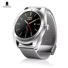 ZoneQuality K89 round screen heart rate monitoring smartwatch Bluetooth watch For iPhone IOS Android phone for men women watch