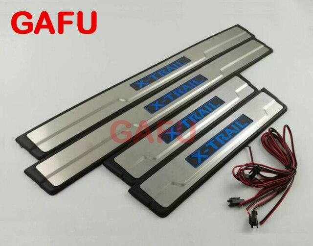 GAFU LED light Door Sill scuff plate Door pedal Car Accessories Car ...