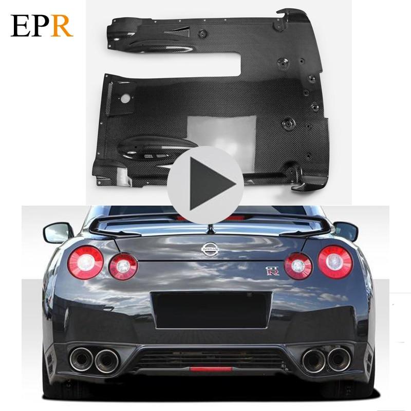 Car Accessories R35 GTR Rear Under Bottom Diffuser Carbon Fiber Car Styling Body Kit For Nissan R35 GTR 2012 on OEM Style футболка классическая printio nissan gtr r35