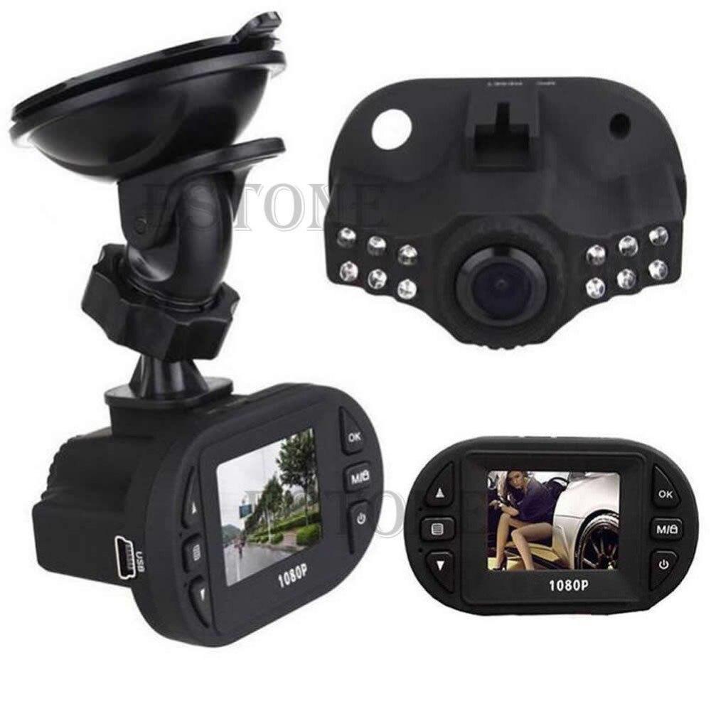 JINSHENGDA1080P Angle 120 Full HD IR Vision Nocturne Voiture DVR Véhicule Caméra Enregistreur Vidéo Caméra de tableau de Bord