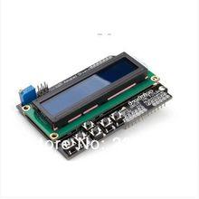 NEUE 1 stücke 1602 LCD Bord Tastatur Schild Blau Hintergrundbeleuchtung Für Arduino LCD Duemilanov