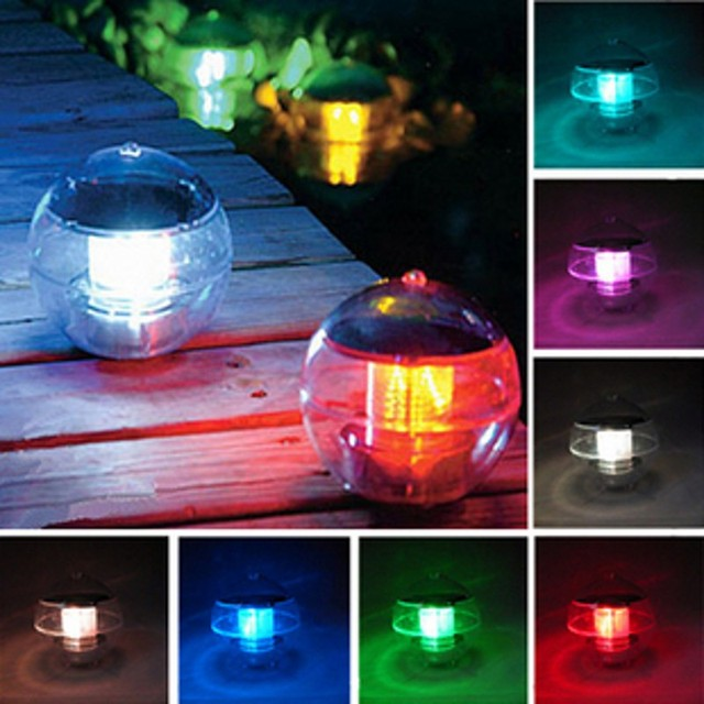 Solar Led Floating Lights For Pools Water Floating Ball