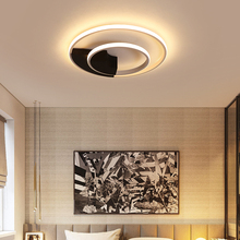 New Arrival Black and White LED Chandelier For Living Study Room Bedroom Square Aluminum Modern Led Ceiling Chandelier недорого