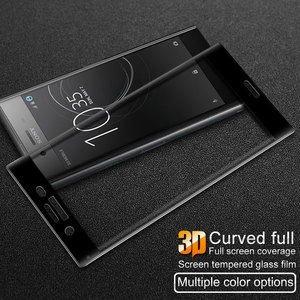 Image 3 - for Sony Xperia XZ Premium G8141 G8142 3D Curved Full Cover Tempered Glass for Sony XZ Premium Dual Sim RONICAN Screen Protector
